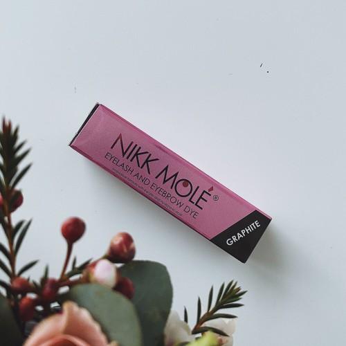 Краска для бровей и ресниц NikkMole graphite