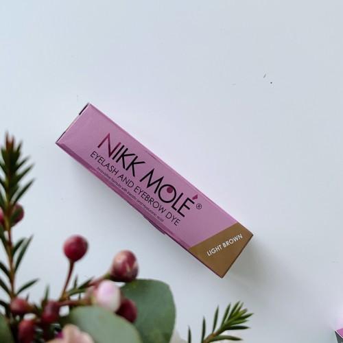 Краска для бровей и ресниц NikkMole light brown